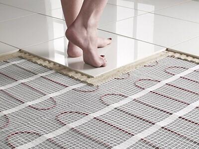padlófűtés rendszer kiépítése